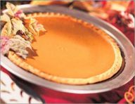 Tasty pumpkin pie